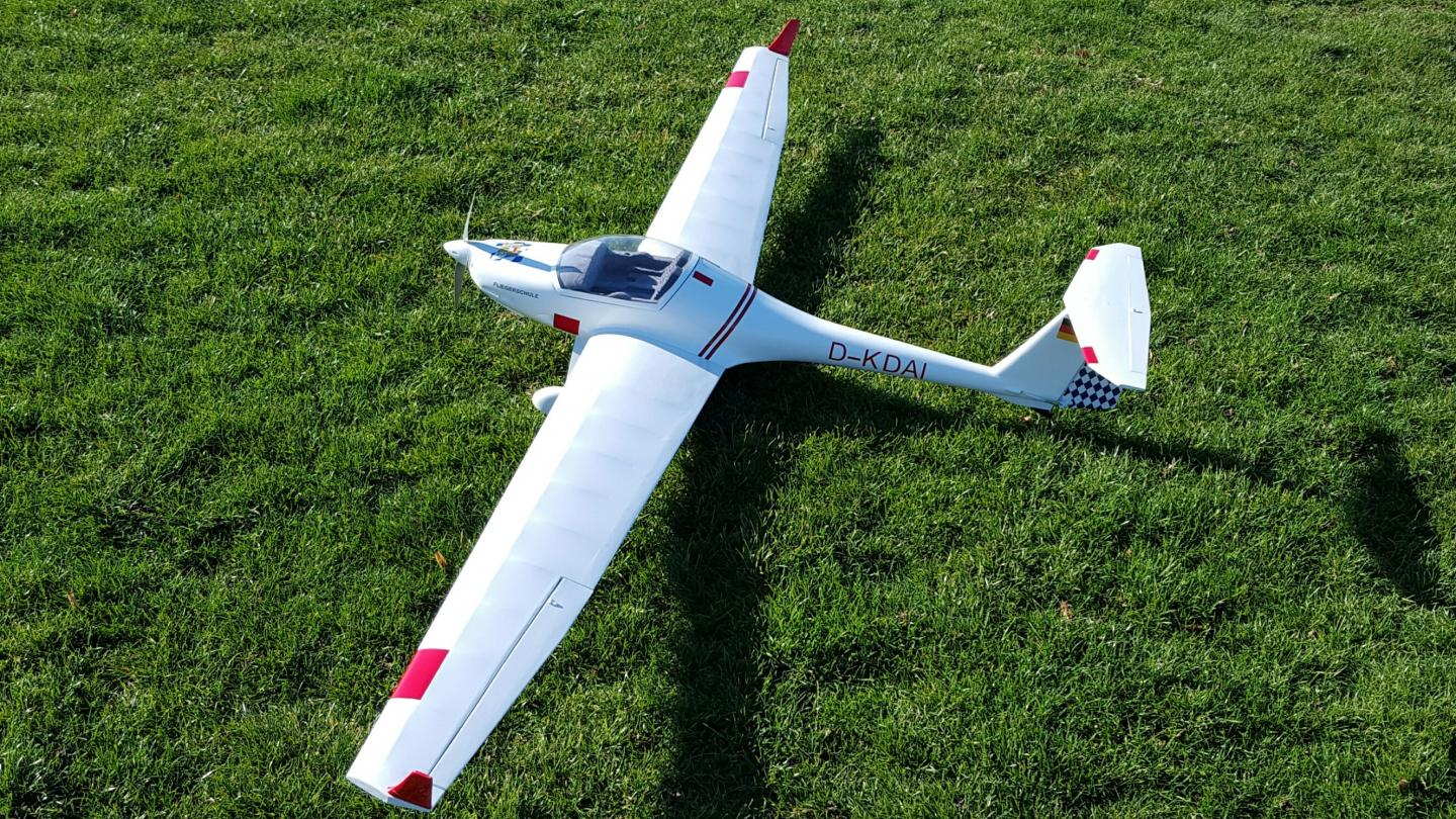 FOR SALE: Super Dimona Motor Glider -- complete and ready to fly